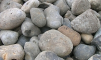 large sea pebbles